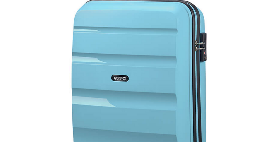 American Tourister Bon Air - Spinner 55cm - Hand Luggage Cabin Case - Blue Topaz