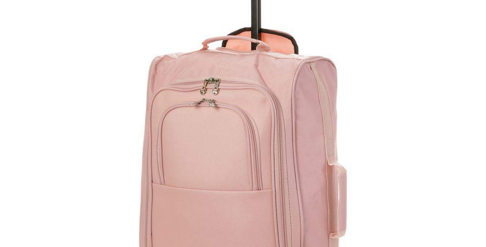 Trip Pack Essentials | Rose Gold Cabin Hand Luggage | 55cm