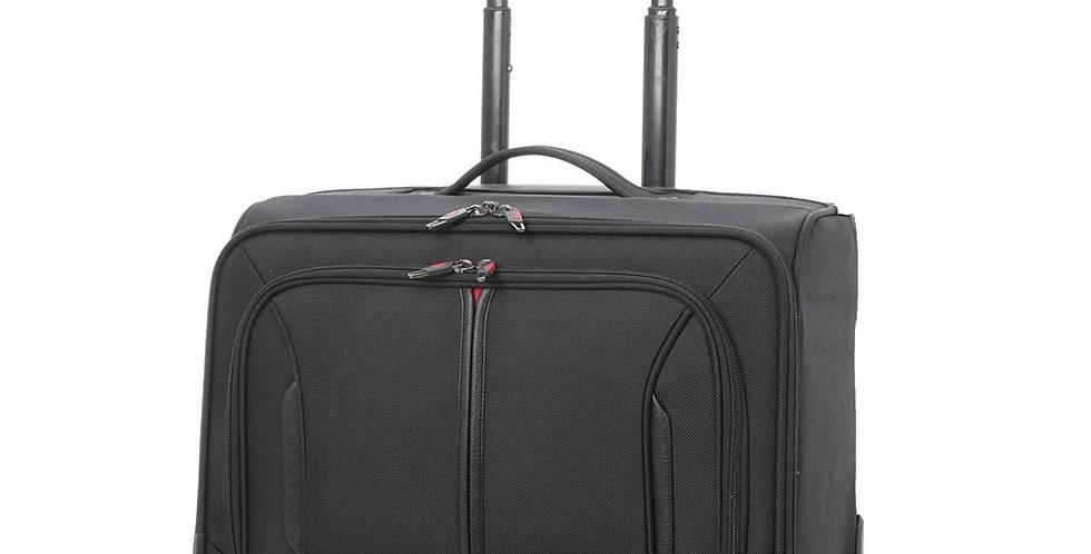 "Aerolite WLB Executive Laptop Trolley Bag | 4 Wheel Spinner 18"" Hand Luggage"