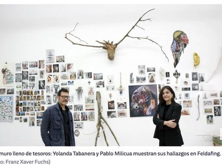 Pablo Milicua conquista Alemania con su exposición en Feldafing