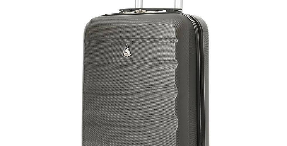 Aerolite | Lightweight Hardshell 4 Wheel Hand Luggage | 55x35x20cm