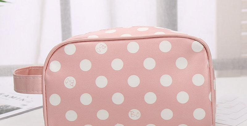 Pink Toiletry Storage Travel Bag - Makeup Toiletries Trip and Travel Bag
