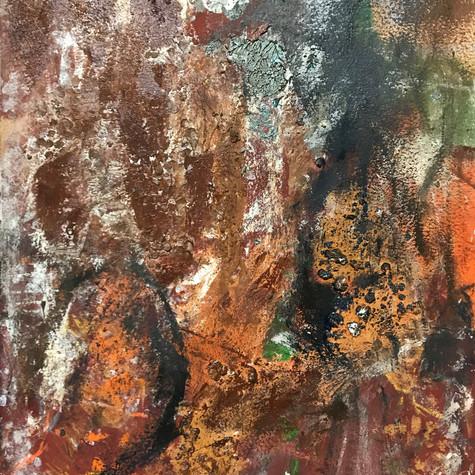 Sabel 108 cm x 80 cm Óleo y pigmentos sobre papel eskulan 2.800 €