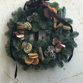 Blue Lavender Wreaths