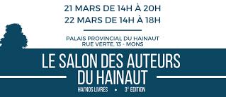 Hai Nos livres - salon des auteurs du Hainaut