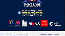 Salon du livre de Mons, mevoici!
