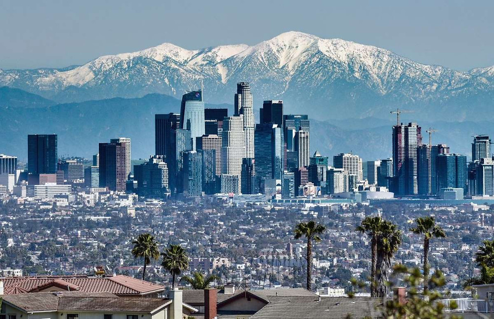 Photos of clear-skied Los Angeles are mind-blowing: Is the air really  cleaner?