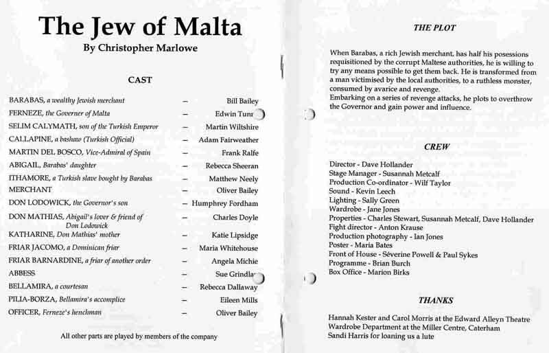 The Jew of Malta 2005 programme .jpg