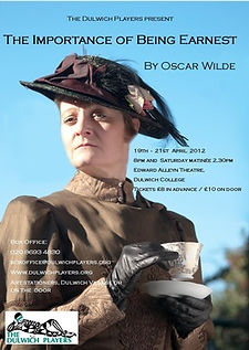The Importance of Being Earnest 2012 poster .jpg