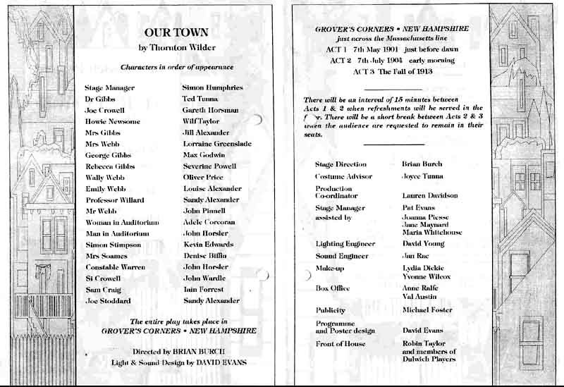 Our Town 1993 programme .jpg