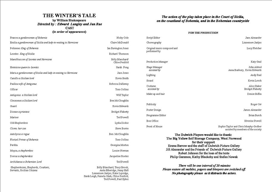 The Winter's Tale 2010 programme .jpg