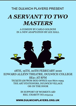 A Servant to Two Masters 2010 poster .jpg