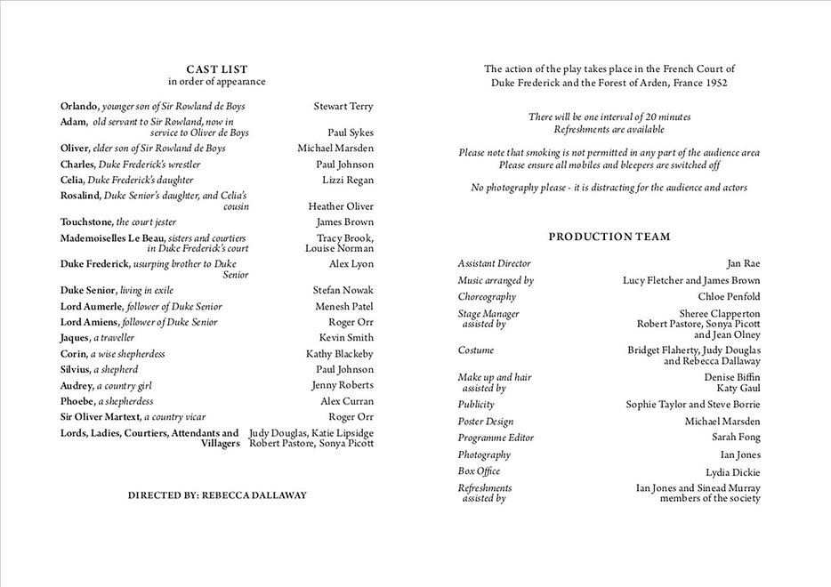 As You Like It 2013 programme .jpg