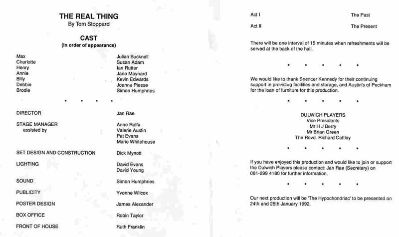 The Real Thing 1991 programme .jpg