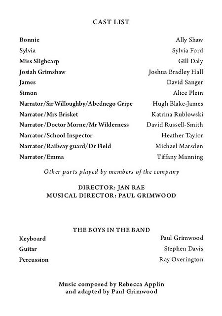 Wolves of Willoughby Chase 2014 programme .jpg