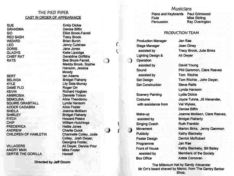 The Pied Piper 2001 programme .jpg