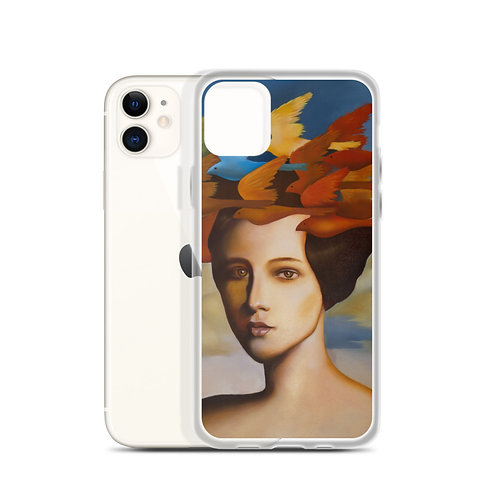 Wig of larks iPhone Case