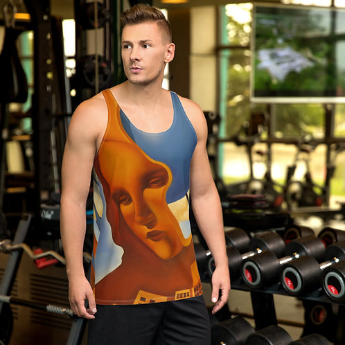 Leonardo's Bioconstruction Unisex Tank Top