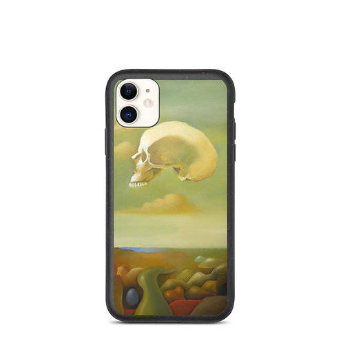 Memento mori Biodegradable phone case