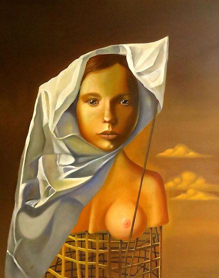 Northern Girl portrait contemporary surrealism