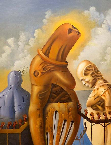 Castas, surrealist art