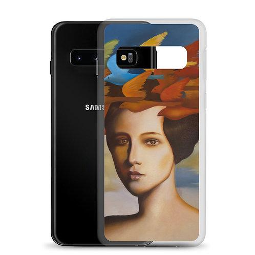 Wig of larks Samsung Case