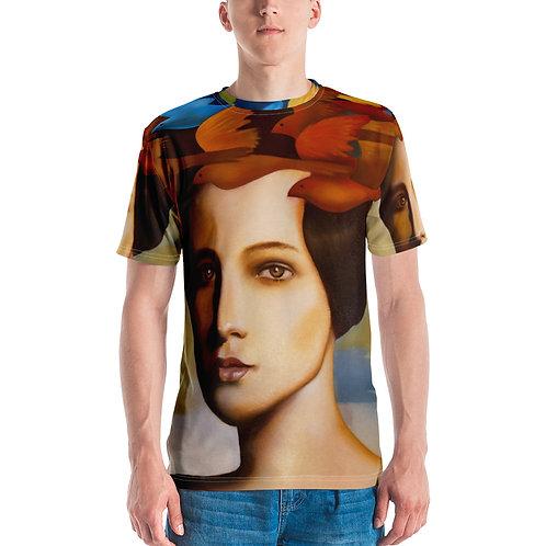 Wig of larks Men's T-shirt