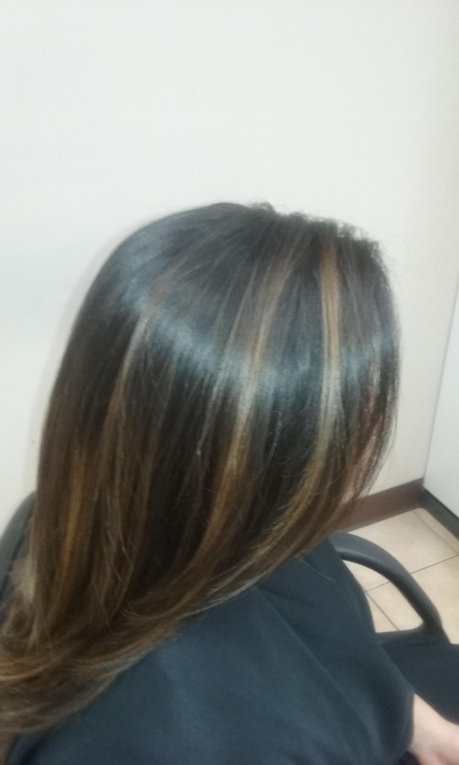Balayage/ Hair Cut/ Blow Dry