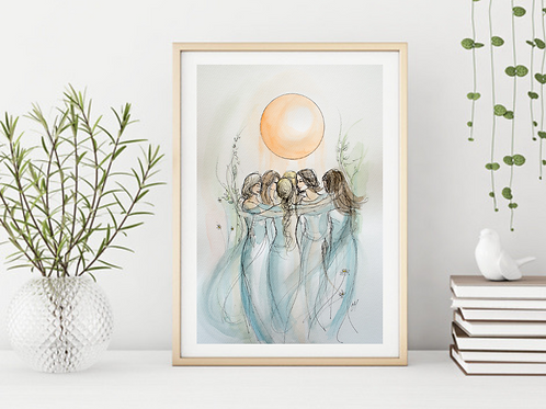 Tribe - Signed Giclee Print