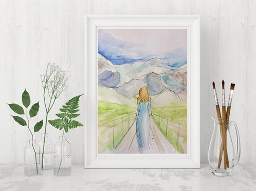Mountain Women -Signed Giclee Print