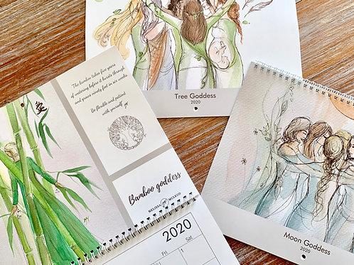 Tree Goddess 2020 Calendar Includes FREE shipping in Australia