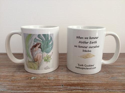 Earth Goddess Mug
