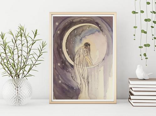 Serenity Goddess -Signed Giclee Print