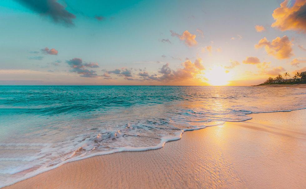 sea beach blue sky sand sun daylight rel