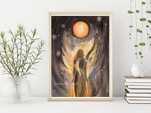 Fire Goddess -Signed Giclee Print