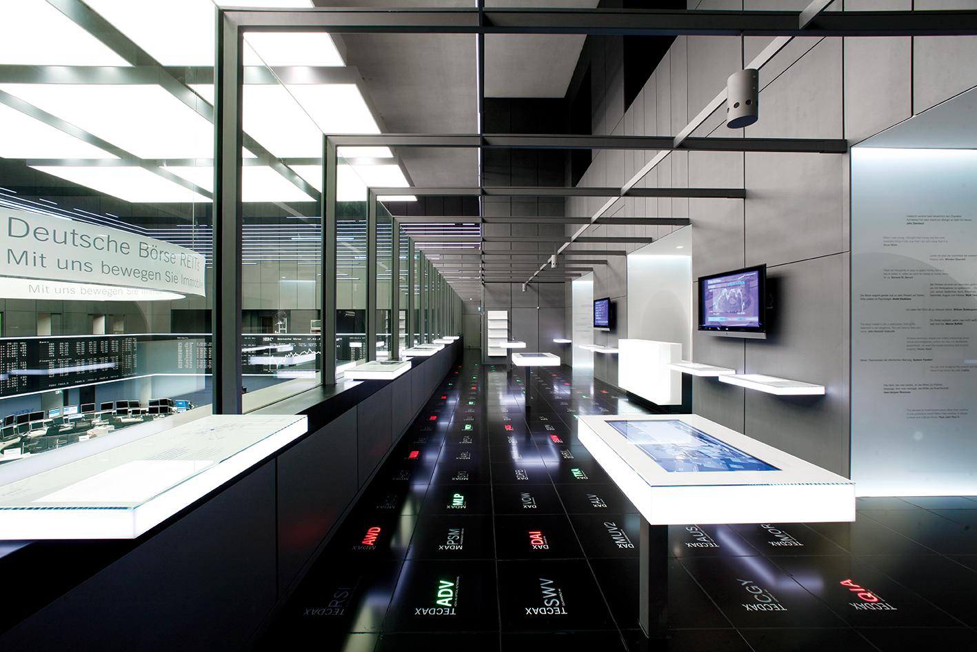 Besuchergalerie Deutsche Börse