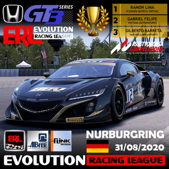 ERL-Honda NSX GT3 - Et5 Nurburgring