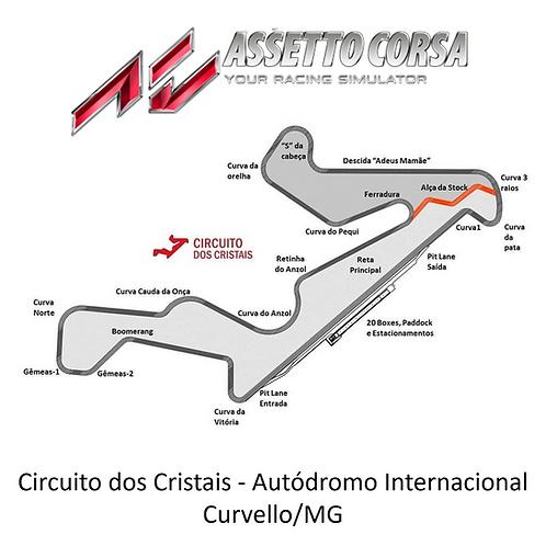 Autódromo Virtual De Curvello - circuito dos cristais