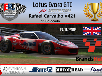 Brands Hatch - Lotus Evora