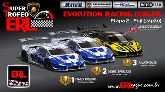 ERL-Super Trofeo (Huracan ST) Etapa 2 - Fuji (Japão)