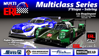 ERL-Multiclass Series Etapa 3 - Sebring