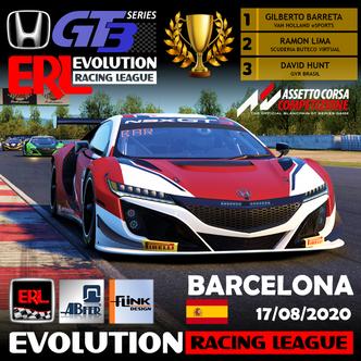 ERL-Honda NSX GT3 - Et4 - Barcelona