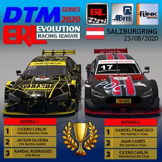 ERL-DTM 2020 - Etapa 3 Salzburgring