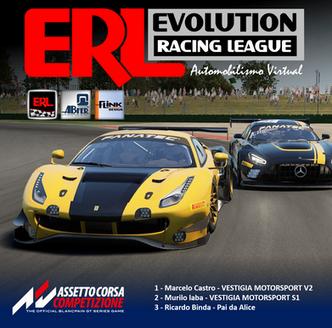 ERL – GT3 Series – Etapa Misano