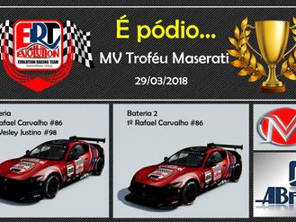 Pódio - Troféu Maserati