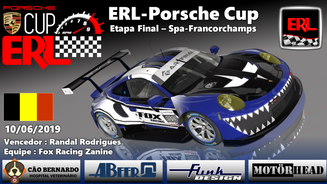 ERL-Porsche CUP Etapa Final - Spa-Francorchamps