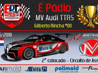 É Pódio.... MV Audi TTRS
