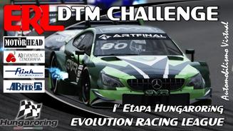 ERL-DTM Challenge  1ª etapa - Hungaroring
