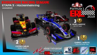 ERL-F1 Hibrid 2019 Etapa 3/6 - Hockenheinring