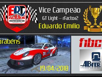Vice Campeão - Eduardo Emílio